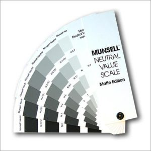 Munsell – neutral value scale matte finish