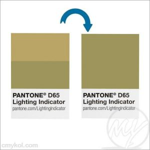 Pantone – light indicator stickers d65