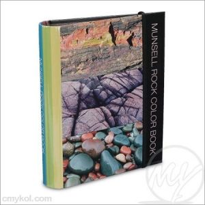 Munsell – geological rock color chart book