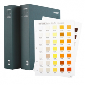 New pantone cotton chip set