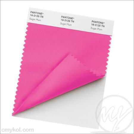 Pantone – nylon brights – swatch card
