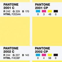 Pantone – color bridge coated
