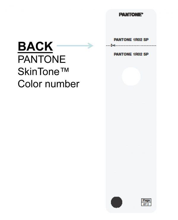 Pantone – skin tone guide