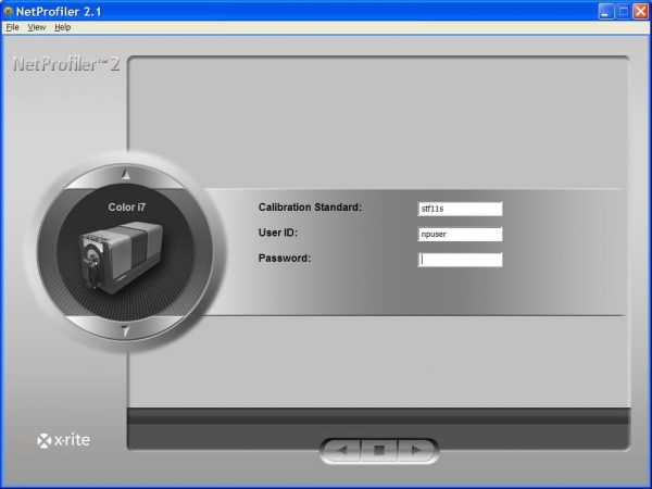 Spettrofotometro x-rite – color i7
