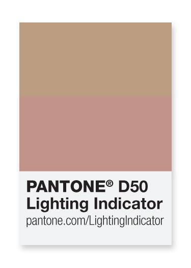 Pantone – light indicator stickers d50